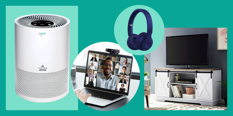 october sales showcasing air purifier webcam headphones tv stand. October brings deals on home goods, appliances, electronics and more. Discover the best sales being offered by Amazon Prime Day, Walmart, REI and more.