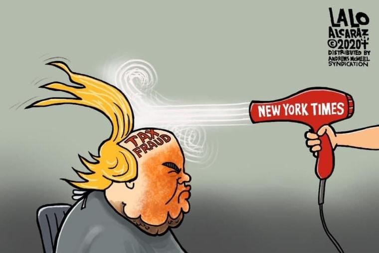 Image: Political cartoon by Lalo Alcaraz