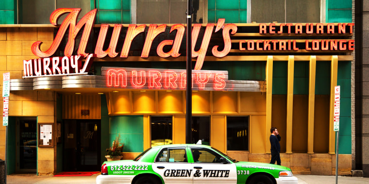 Murray's is a landmark steakhouse in downtown Minneapolis, home of the famous Silver Butter Knife Steak. Since 1954.