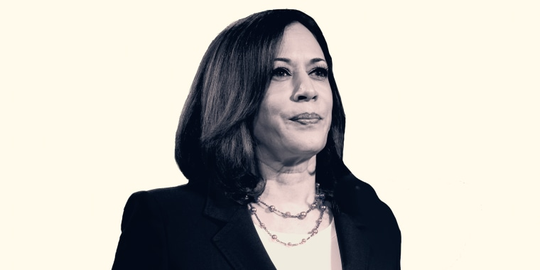 Pearls have been a staple for Sen. Kamala Harris for years.