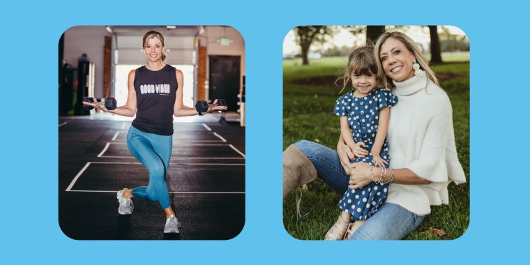 Heather Harrington is a fitness instructor, small business owner and the mom of a 5-year-old girl.