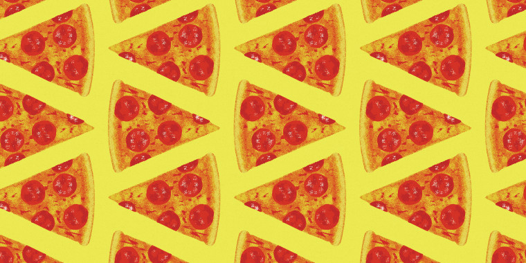 Pattern of Pizza