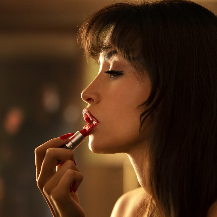 Actor Christian Serratos steps into the bedazzled bustier of iconic Tejano singer Selena Quintanilla Perez in the upcoming Netflix series.