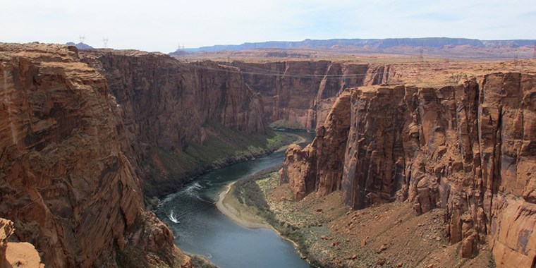 Colorado River from the Dam Overlook.