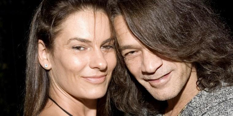 Janie and Eddie Van Halen
