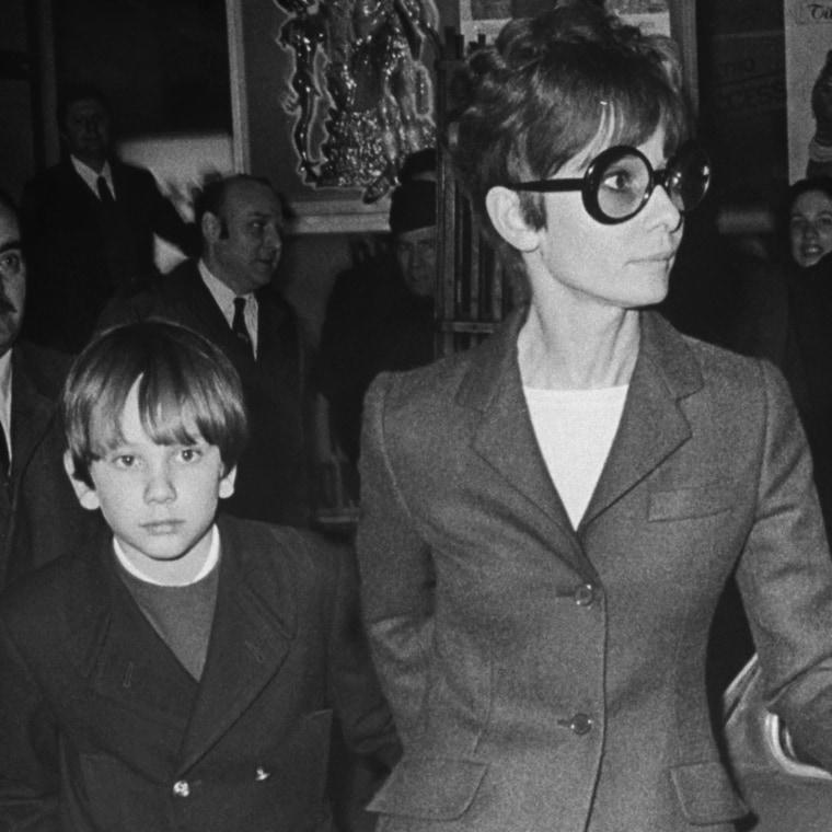 Sean Ferrer;Audrey Hepburn [& Family]