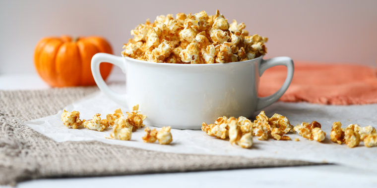 Joy Bauer's Pumpkin Kettle Corn
