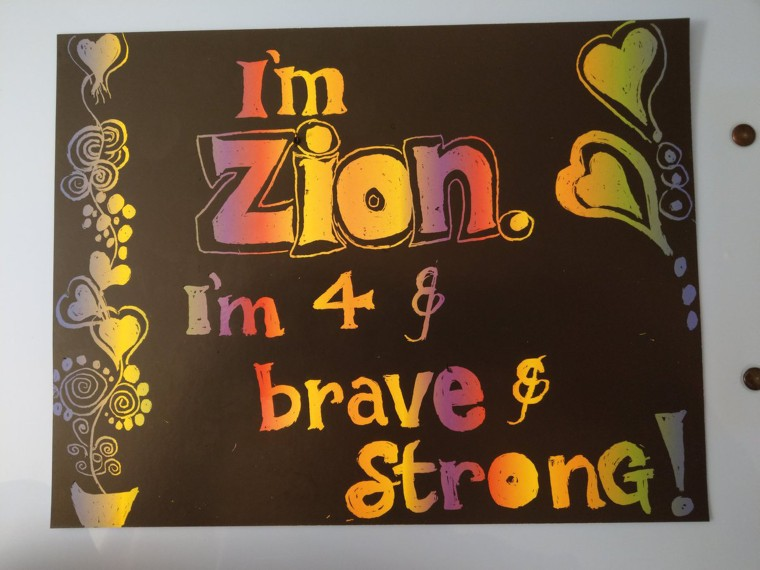 Thanks to Dr. Theresa Chapple's Twitter request, hundreds of families are making cards to send to 4-year-old Zion Hicks.