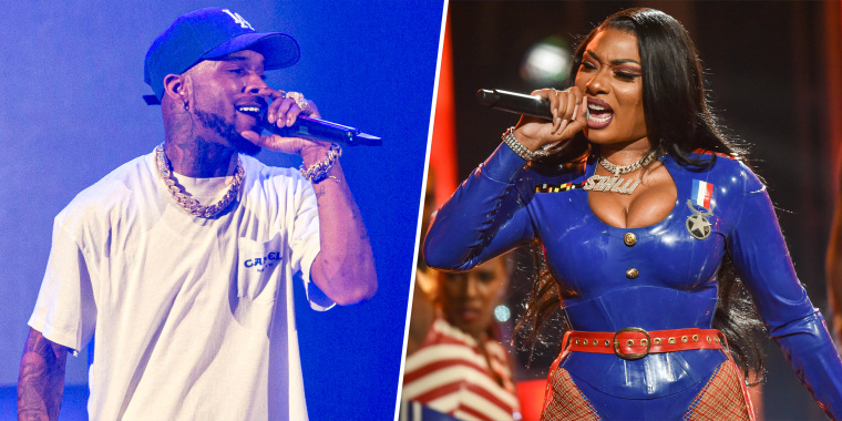 Rapper Tory Lanez was charged Thursday with assaulting Megan Thee Stallion in an incident back in July.
