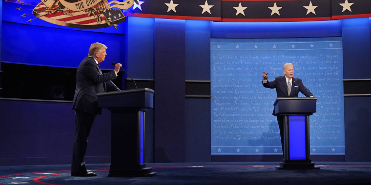 Image: Image: Donald Trump, Joe Biden