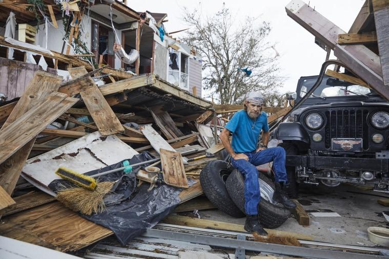 Image: Hurricane Laura aftermath Lake Charles, Louisiana