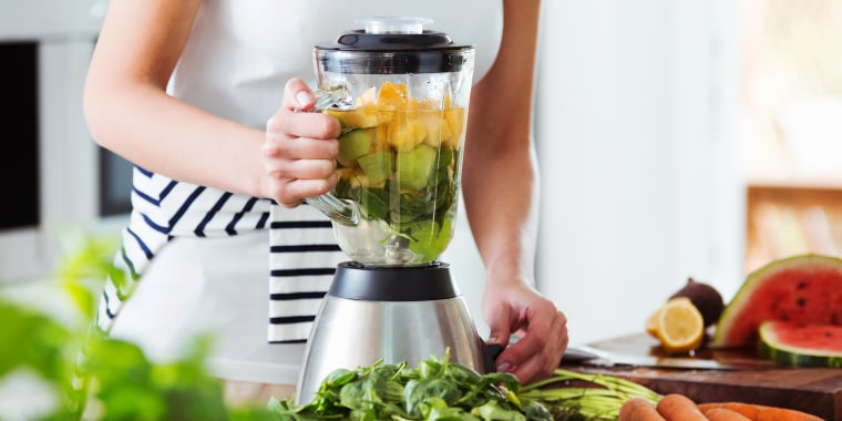 woman making smoothie in blender. Find the best home and kitchen product deals this Prime Day. Shop a wide selection of sales on coffee makers, air fryers, cookware and more.