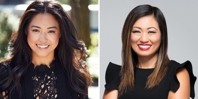 From left to right: Lisa Sun, CEO and founder of Gravitas, and Jane Park, CEO and founder of Tokki.