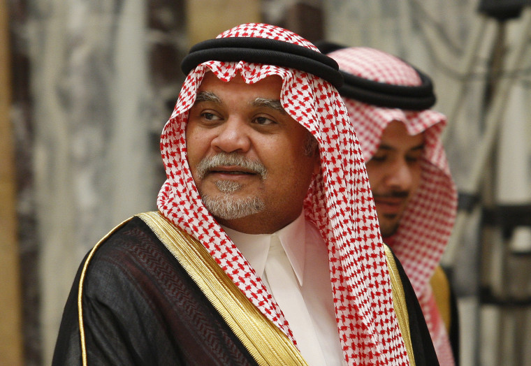 Image: Saudi Prince Bandar bin Sultan bin Abdulaziz