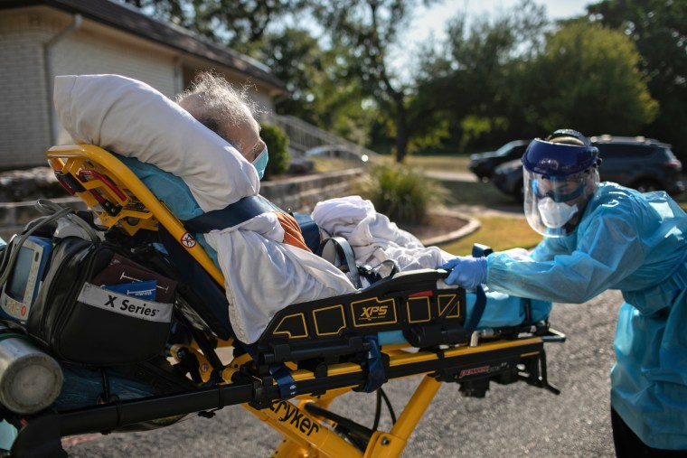 Texas EMS First Responders Face Higher Caseload Amid COVID-19 Pandemic