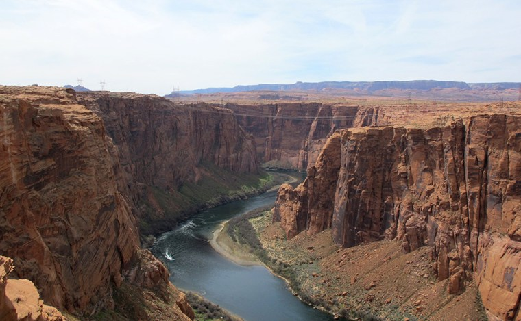 Image: Colorado River from the Dam Overlook