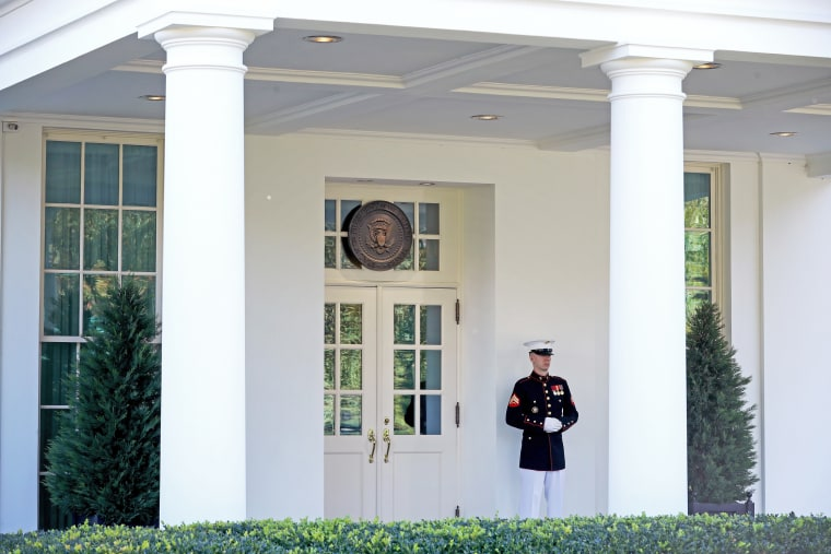 Image: COVID-19 Infections Spread Through The White House