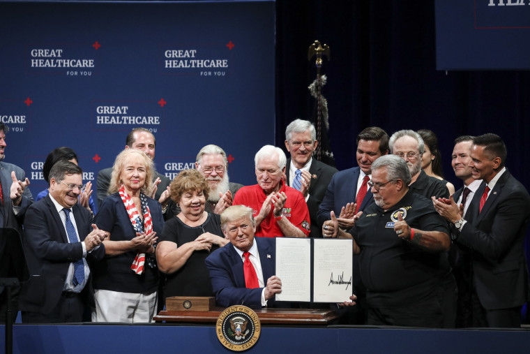 President Trump Signs Executive Order Protecting Medicare
