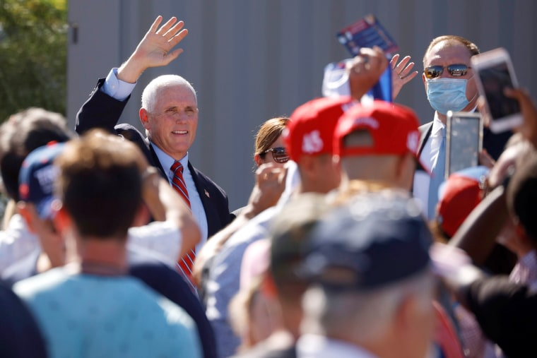 Image: U.S. Vice President Mike Pence visits TYR Tactical in Peoria