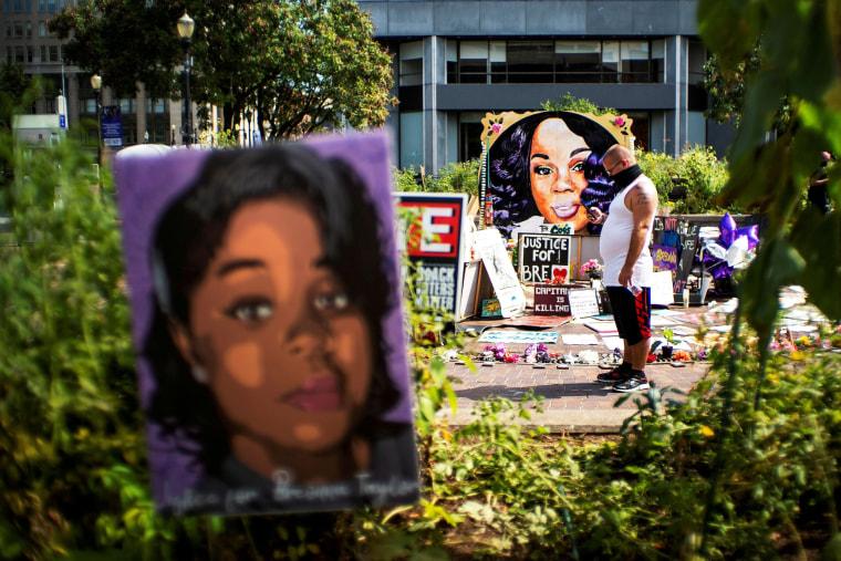 Image: Breonna Taylor memorial