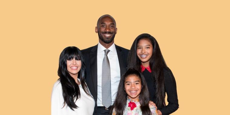Vanessa Laine Bryant, Kobe Bryant, Gianna Maria-Onore Bryant, and Natalia Diamante Bryant