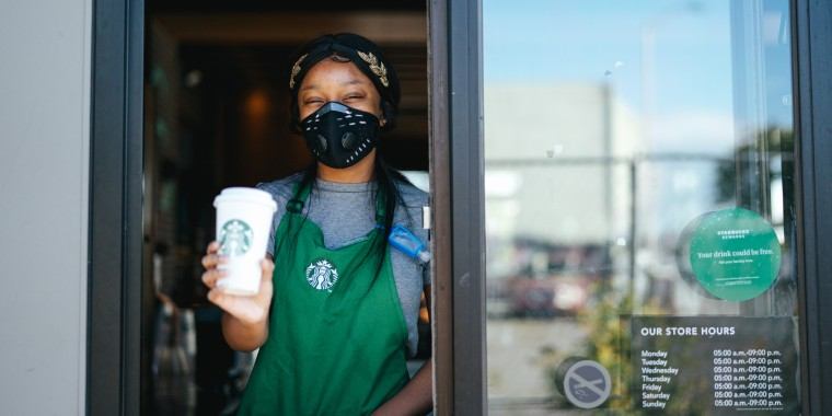 """""""This kind of outreach further ensures that Starbucks locations are welcoming places for all,"""" Starbucks CEO Kevin Johnson wrote in a letter to employees."""