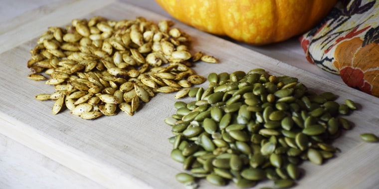 What's the difference between pumpkin seeds and pepitas?