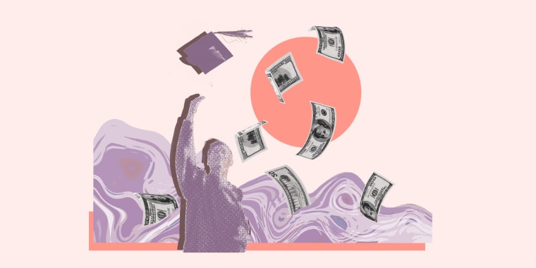 The cost of college has risen 25% over the past 10 years, according to December 2019 research from CNBC Make It.