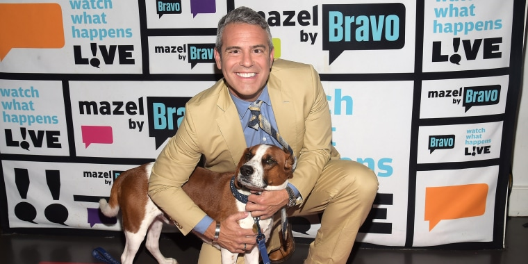 Andy Cohen and Wacha
