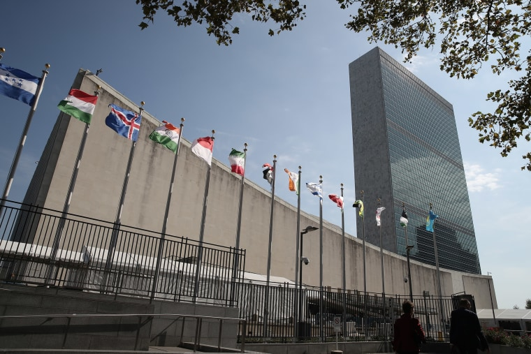 Image: The Headquarters of the United Nations ahead of the 74th Session of the U.N. General Assembly.