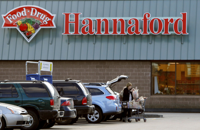 A Hannaford's grocery store in Auburn, Maine.