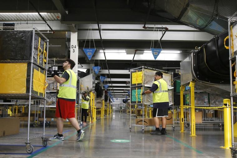 Image: Amazon warehouse