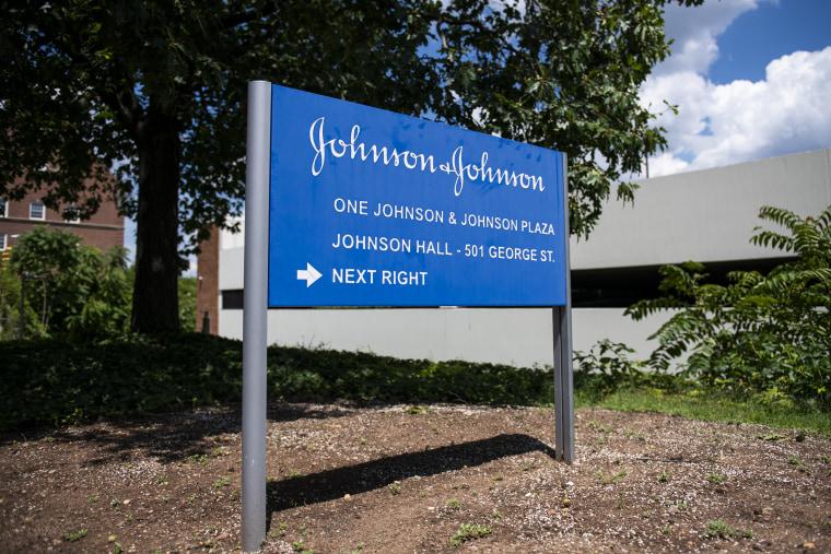 Image: Johnson & Johnson World Headquarters As Company Anticipates Approaching Regulators With One-Dose Shot