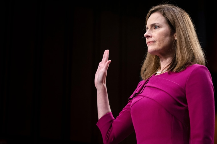 Image: Judge Amy Coney Barrett, US-VOTE-JUSTICE