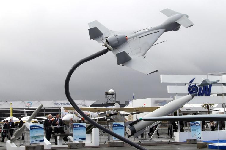 IMAGE: UCAV IAI Harop drone