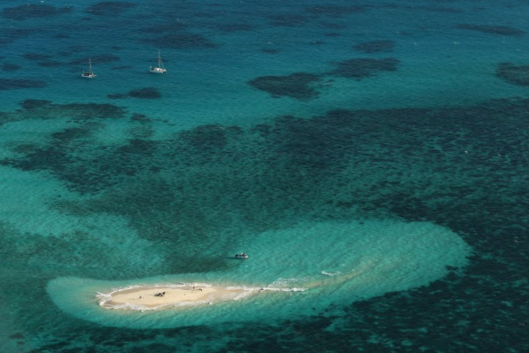Image: Vlassof Cay in the Great Barrier Reef in Cairns, Australia.