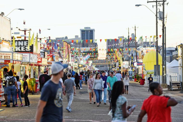 Image: Mississippi State fair begins in Jackson