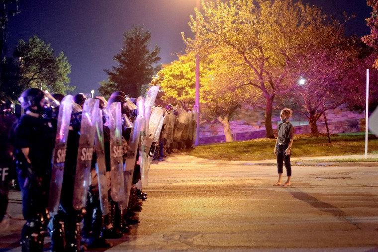 Image: ***BESTPIX*** Protests Continue Over Death Of Alvin Cole By Police In Wauwatosa, WI