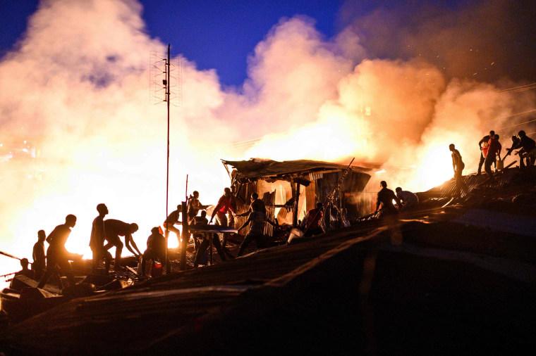 Image: TOPSHOT-KENYA-FIRE
