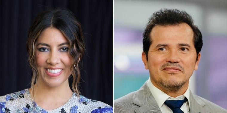 Stephanie Beatriz and John Leguizamo