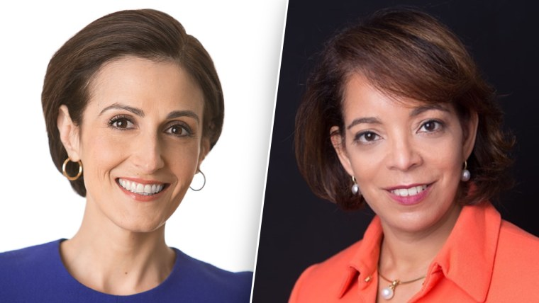 Dr. Victoria DeFrancesco Soto (left) is the Assistant Dean of Civic Engagement at The LBJ School of Public Affairs at The University of Texas at Austin. Alejandra Castillo is the CEO of YWCA USA which serves 2.3 million women and girls around the country with a network of over 200 associations.