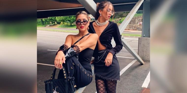 Adrienne (20) and Brigitte (22) Hedvat, founders of U Envi
