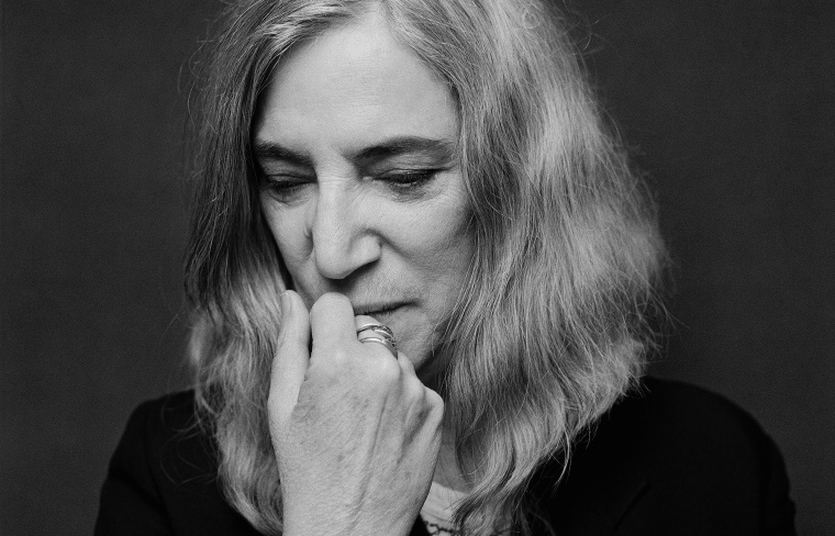 Author, poet and musician Patti Smith.