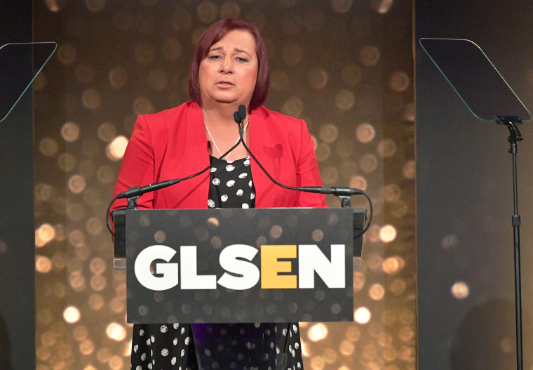 Image: Stephanie Byers, GLSEN 2018 Respect Awards - New York  - Inside
