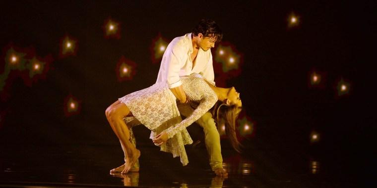 Gleb Savchenko, Chrishell Stause on Dancing with the Stars