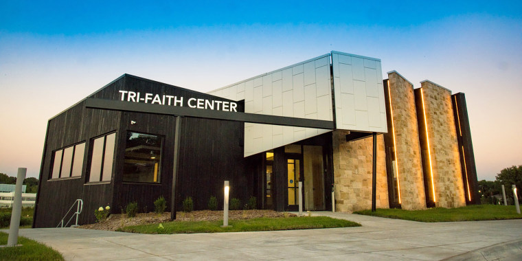 Tri-Faith Initiative, interfaith center