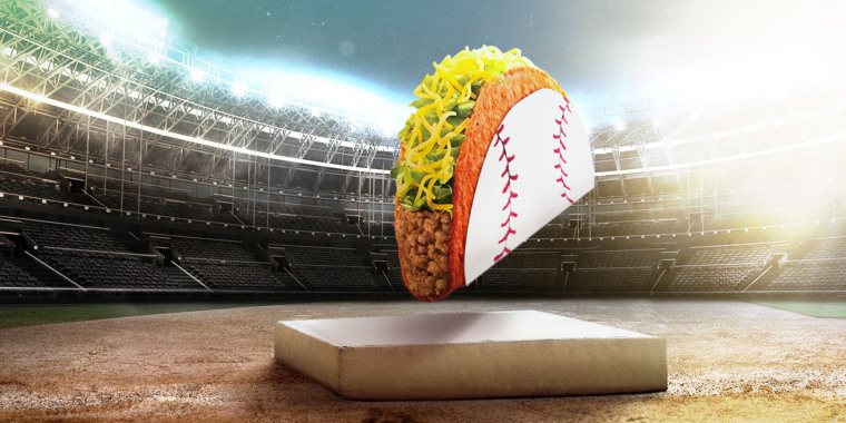 Keeping tradition alive, even in 2020, stolen bases mean free tacos this World Series.