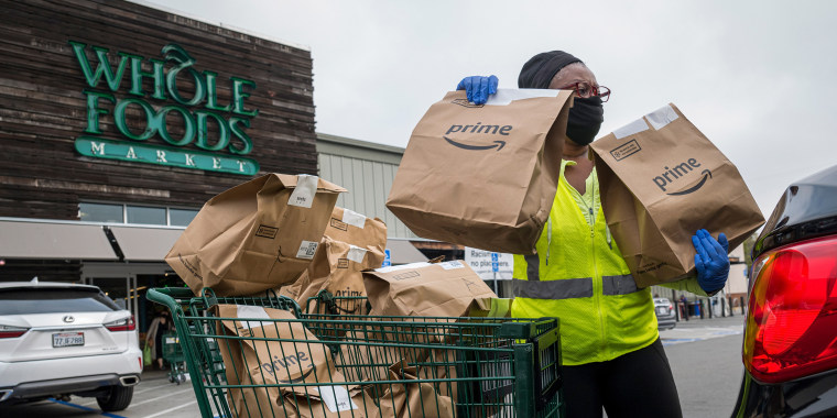 Whole Foods Is Left Behind In Amazon's Pandemic-Fueled Boom