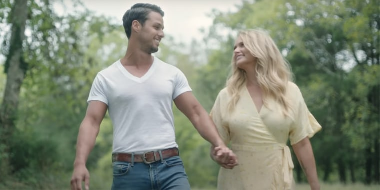 """The couple's chemistry is on full display in the new music video for """"Settling Down."""""""