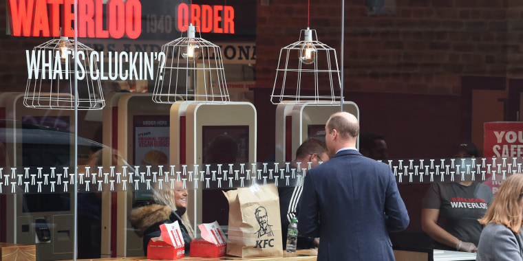 Prince William, KFC
